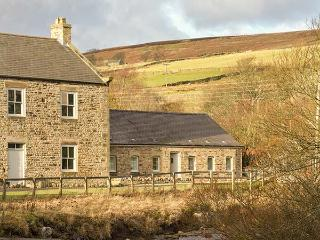 RIVERSIDE COTTAGE, single-storey, ideal for a small family or couple, countryside walks, near Rookhope and Stanhope, Ref 916782 - County Durham vacation rentals