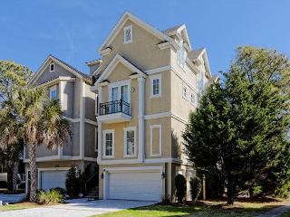 Stunning 5BR/5.5BA 3rd Row Home with Ocean Views and 1 Min Walk to Beach - Hilton Head vacation rentals