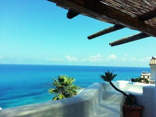 LiscaBiancaTropea room sea view beach  access - Calabria vacation rentals