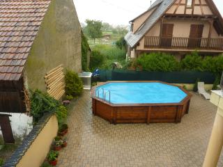 """""""Au P'tit Bonheur"""" – Bright house in Biesheim, Alsace, with private terrace, garden and pool - Biesheim vacation rentals"""