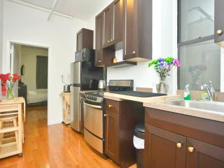 Spacious 2 BR near Times Sq (No living Room) - Weehawken vacation rentals
