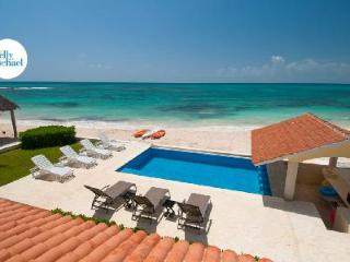 Magnificent Villa Carolina with Air Conditioning, Gourmet Kitchen, Oceanside Pool - Yucatan-Mayan Riviera vacation rentals