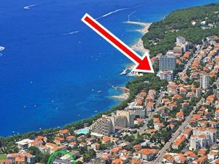 APP2+2, 20 m from the beach - Makarska vacation rentals