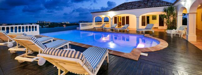 SPECIAL OFFER: St. Martin Villa 285 Exceptional Views Of Simpson Bay, The Sparkling Caribbean Sea And The Islands Of Saba, St Eustatius And St. Kitts. - Terres Basses vacation rentals