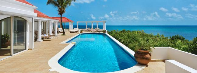 SPECIAL OFFER: St. Martin Villa 66 A Brand New Villa Offers Spectacular Ocean Views And A Charming Gazebo With Views Of Baie Rouge Beach. - Image 1 - Terres Basses - rentals