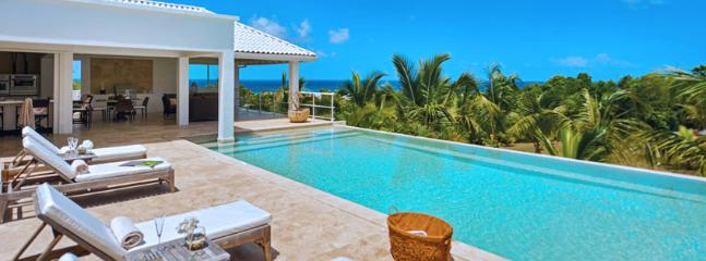 SPECIAL OFFER: St. Martin Villa 240 Overlooking The Turquoise Waters Of The Caribbean Sea And Sitting On Striking Landscaped Gro - Terres Basses vacation rentals