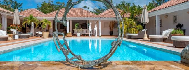 SPECIAL OFFER: St. Martin Villa 68 The Wide Open Design Of This Spacious Four Bedroom Villa Is In Complete Harmony With Its Natural Setting. - Terres Basses vacation rentals