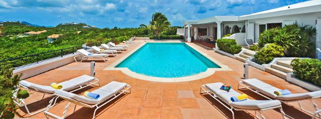 SPECIAL OFFER: St. Martin Villa 70 The Special Location Provides Unforgettable Views Of The Sky, The Sea, The Swimming Pool And The Scenery Of The Mountains. - Image 1 - Terres Basses - rentals