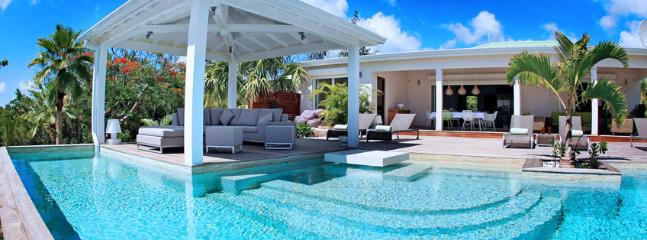 SPECIAL OFFER: St. Martin Villa 73 A Spacious And Elegant Three-bedroom Villa Overlooking The Caribbean Sea. - Image 1 - Terres Basses - rentals