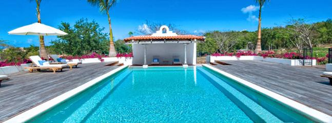 Villa Hacienda SPECIAL OFFER: St. Martin Villa 292 The Combination Of Splendid Sunset Views And Lush Landscaping Gives A New Perspective To Tropical Beauty. - Terres Basses vacation rentals