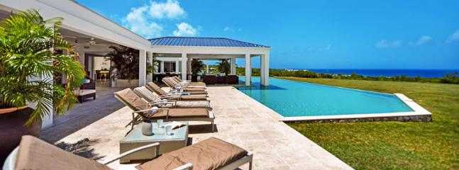 St. Martin Villa 79 Inspiring Sunsets Over The Beautiful Caribbean Sea, Great Comfort And Immaculate Elegance. - Image 1 - Terres Basses - rentals