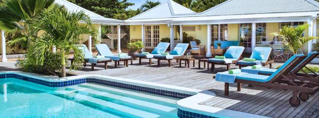 SPECIAL OFFER: St. Martin Villa 89 Features A Gorgeous View Of Baie Longue And A Large Pool-side Terrace With Two Gazebos, One For Dining And One For Lounging. - Image 1 - Terres Basses - rentals