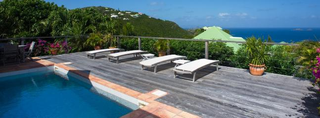 Villa Bijou SPECIAL OFFER: St. Barths Villa 82 The Terrace And The Heated Pool Offer A Very Nice Ocean View. - Flamands vacation rentals