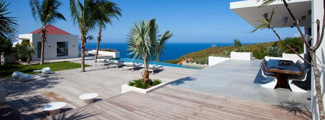 Villa Palm Springs AVAILABLE CHRISTMAS & NEW YEARS: St. Barths Villa 10 You Will Be Astonished By The Amazing Sunset Ocean View. - Lurin vacation rentals