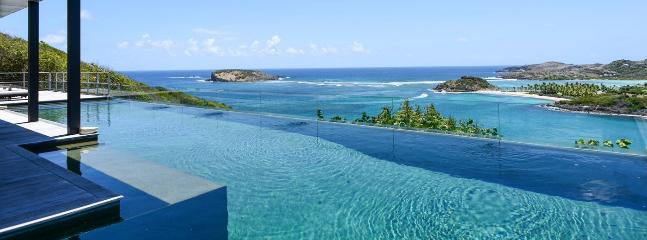 Villa Om AVAILABLE CHRISTMAS & NEW YEARS: St. Barths Villa 11 Offers A Stunning View On Tortue Island And Marigot Bay. - Marigot vacation rentals
