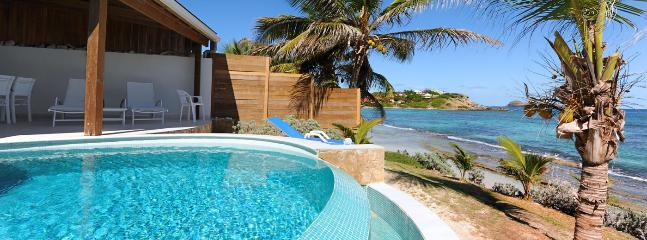 St. Barths Villa 27 A Beach Vacation Rental Situated On The Beach Of Anse Des Cayes - Anse Des Cayes vacation rentals