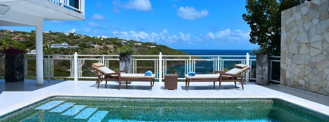 Villa Bellevue SPECIAL OFFER: St. Barths Villa 30 Located On The Hillside Of Marigot In St Bart, At Only Few Minutes From Grand  - Marigot vacation rentals