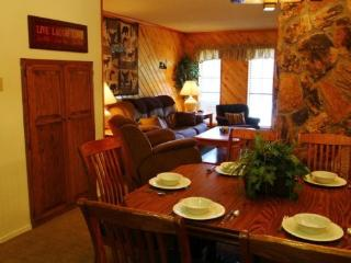 Claim Jumper Townhouse #15 - In Town, Ski In/ Ski Out, On the River, Next to Fishing Ponds, WiFi, King Bed - Red River vacation rentals