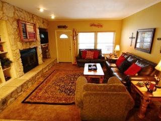 Claim Jumper Townhouse #9 - In Town, Ski In/ Ski Out, On the River, Next to Fishing Ponds, WiFi, King Beds, Pets Considered - Red River vacation rentals