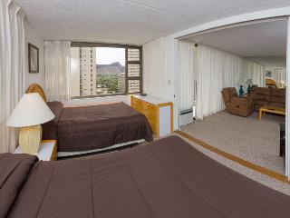 Waikiki Banyan Tower 1 Suite 1501 - Waikiki vacation rentals