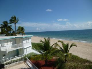 Oceanfront condo in Fort Lauderdale - Pompano Beach vacation rentals
