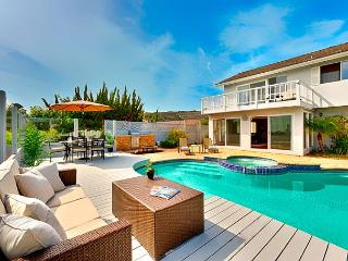 Private pool and spa, captivating  water views, outdoor living at it's best! - San Diego vacation rentals