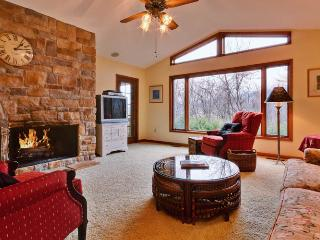 Family friendly home in a private setting just minutes from The Homestead Resort. Large windows and wraparound deck - Hot Springs vacation rentals