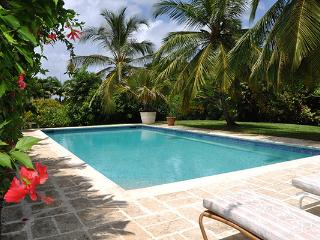 Nestled in the heart of a 3 acre state, this villa is truly a treasure. RL EVE - Barbados vacation rentals