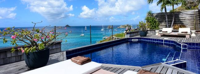 Villa Sky Vista SPECIAL OFFER: St. Barths Villa 132 Located On A Cliff On The Heights Of Gustavia. - Gustavia vacation rentals
