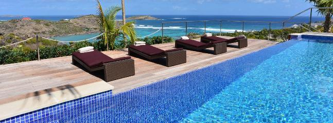 AVAILABLE CHRISTMAS & NEW YEARS: St. Barths Villa 152 A Magnificent View On The Ocean, Surrounded With Greenery. - Petit Cul de Sac vacation rentals