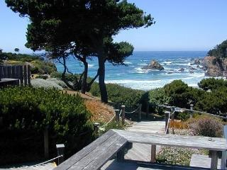The expansive view from Windrift Cottage is framed on the left and right by t - Fort Bragg vacation rentals