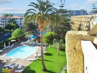Jardin Del Atlantico - stylish, sunny apartment in Gran Canaria w/sea-view terrace & pool, sleeps 3 - Grand Canary vacation rentals