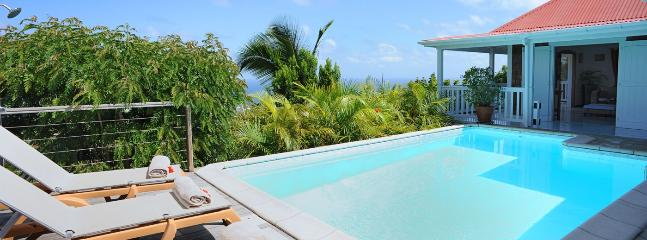 Villa Anais SPECIAL OFFER: St. Barths Villa 140 The Villa Is Located On Vitet Hillside In Saint Barthelemy. - Vitet vacation rentals