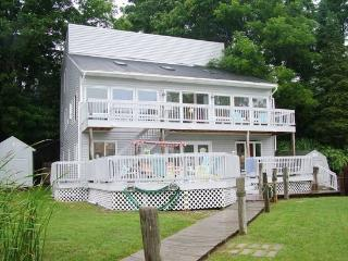 Large Multi-Level Waterfront Home. Sleeps 12. Downtown Douglas steps away! - Saugatuck vacation rentals