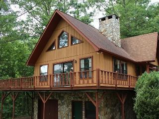 Cozy Cabin - With a Wood Burning Fireplace and Nintendo Wii, This Rental is Just 10 Minutes from the Great Smoky Mountains Railroad - Bryson City vacation rentals