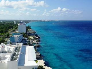 Oceanfront with pool 3 bedroom in Peninsula Grand (PG12A) - Cozumel vacation rentals