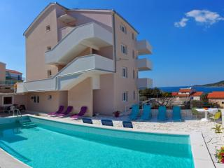 New apartment with panoramic sea view,  pool acces - Northern Dalmatia vacation rentals
