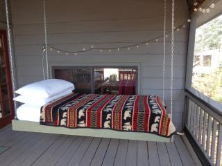 HANGING BED ON PORCH! Real Mnt. Cabin. Yoga Studio - Blue Ridge vacation rentals