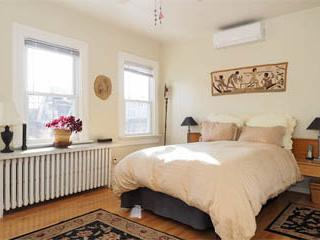Big bright master bedroom at the MONROE HOUSE. - Historic DC: MONROE HOUSE in Arts District - Washington DC - rentals