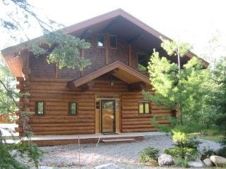 Driftwood Lodge: Exceptional and Spacious 3 Story Hand Scribed Cedar Log Home - Babbitt vacation rentals