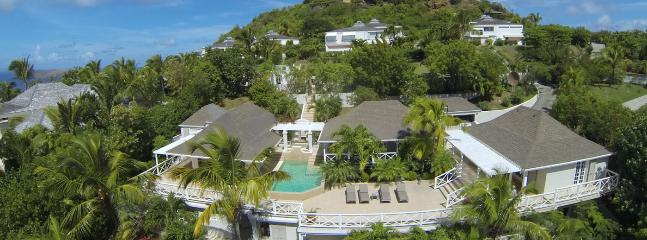 Villa Cricket SPECIAL OFFER: St. Barths Villa 153 Close To The Geographic Center Of St Barths With A Panoramic View Of The Ocean - Saint Jean vacation rentals
