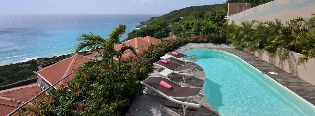 SPECIAL OFFER: St. Barths Villa 159 This Brand New Villa Has A Superb Ocean View On Gouverneur Beach. - Gouverneur vacation rentals