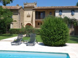 Splendidly Restored Mas in Uzès with Private Pool, Tennis Court, Sleeps 15 - Garrigues-Sainte-Eulalie vacation rentals