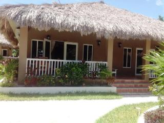 Our beautiful thatched roof 722 sq ft. cabana 13A - Belize Cayes vacation rentals
