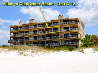 Villas of Clearwater | Beachfront 2 bed 2 bath - Clearwater vacation rentals