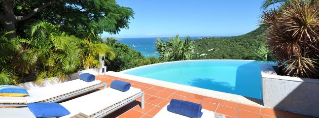 SPECIAL OFFER: St. Barths Villa 166 Enjoy The Luxury Of This Very Private Villa With A Breathtaking View Of The Ocean Beyond. - Saint Jean vacation rentals