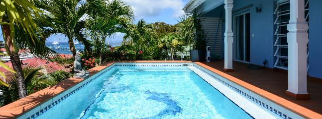 Villa Le Marlin SPECIAL OFFER: St. Barths Villa 170 Ideally Situated In The Heart Of Gustavia, In St. Barth In The French Antill - Gustavia vacation rentals