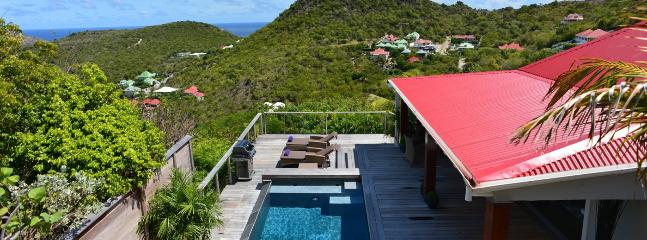 SPECIAL OFFER: St. Barths Villa 168 The Villa, Fully Renovated, Has A Very Nice Hillside And Ocean View. - Flamands vacation rentals