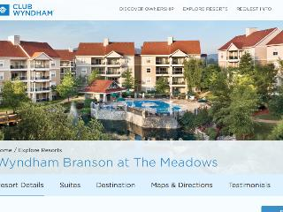 Affordable Luxury - Wyndham's Branson the Meadows - Missouri vacation rentals