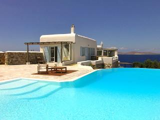 This fun summer home is located on the most panoramic side of Mykonos- views from Tinos to Delos. LIV ANE - Panormos vacation rentals